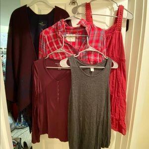 Sweaters - Women's size medium holiday clothing bundle
